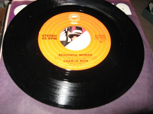 Price comparison product image CHARLIE RICH - beautiful woman/ same EPIC 50562 (45 single vinyl record)
