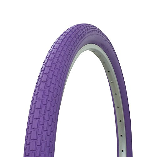 Purple Tire - Fenix Beach Cruiser Tire 26in x 2.125in, (Purple)