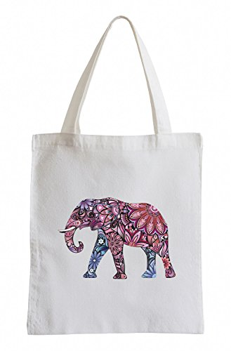 Fun Jutebeutel Raxxpurl Flower Elefant Power qIxwASt0