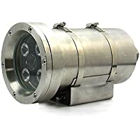 BFMore Explosion Proof Camera AHD 2MP 1080P Stainless Steel 4 IR LED Night Vision Outdoor Security Vandal Proof 6mm Lens