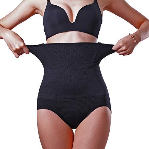 MELERIO Women's Body Shpaer, High Waisted Tummy Control Panties, Butt Lifter Shapermint Spanks Shapewear