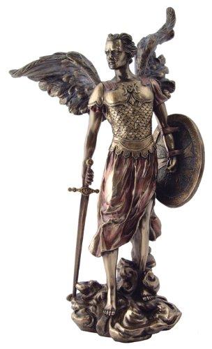 amazon com archangel st michael statue archangel of protection