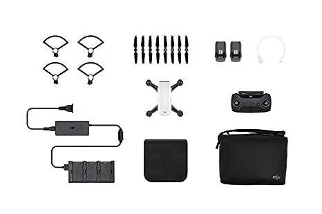 DJI Spark Mini Drone Combo - Remote Control Quadcopter Alpine ...