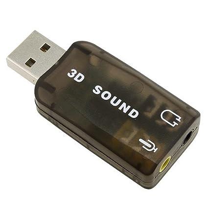 eForCity PUSBSCXXAD01 USB Tarjeta de Audio - Tarjeta de ...
