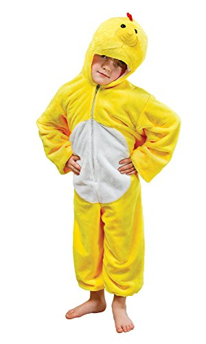Bristol Novelty CC813 Chicken Plush Costume, Medium, Approx