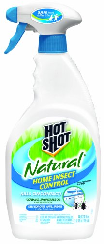 Hot Shot 95846 Natural Home Insect Control Pump Spray, 24-Ounce (Control Natural Pest)