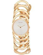 ساعة للنساء من كالفن كلاين K4G23626 - رسمية، بعقارب