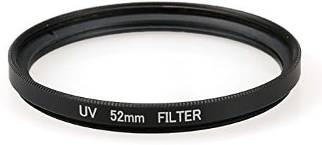 HAWEEL Lens Filter 52mm Round Circle UV Lens Filter for GoPro Hero 4//3+