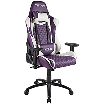 Techni Sport TS-52 Ergonomic, High Back, Racer Style, Video Gaming Chair. Color Purple Purple