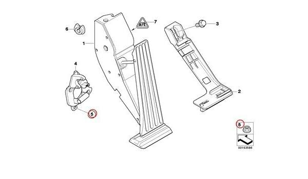 Amazon com: BMW Genuine Acceleration Accelerator Pedal Module Self