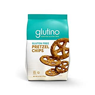 Glutino Free Pretzel Chips, Perfect Everyday Snack, Salted, 6 Ounce (Pack of 6)