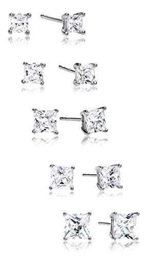 Regetta Jewelry Sterling Zirconia Earrings