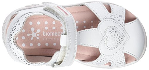 Biomecanics Mädchen 182168 Geschlossene Sandalen Weiß (Sauvage)
