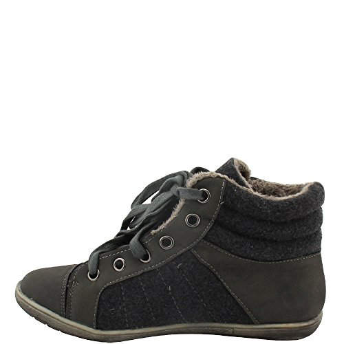 Donna Unbekannt Grigio A Stivaletto grigio Pantofole qxt74wp