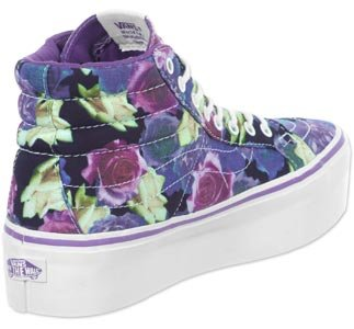 Lona Sk8 Rosa Roses De Zapatillas Vans Para Hi Hombre Platform Lily daqSRRXxw