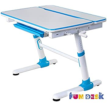 FD FUN DESK Height Adjustable Children Desk, Kids Workstation For School,  Kids Study Table