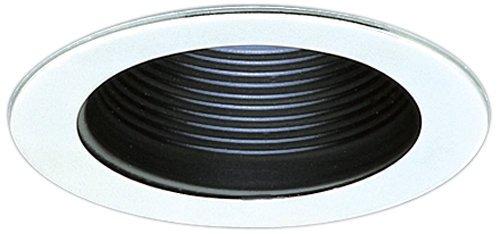 Elco Lighting EL1493B 4'' Low Voltage Adjustable Step Baffle Trim