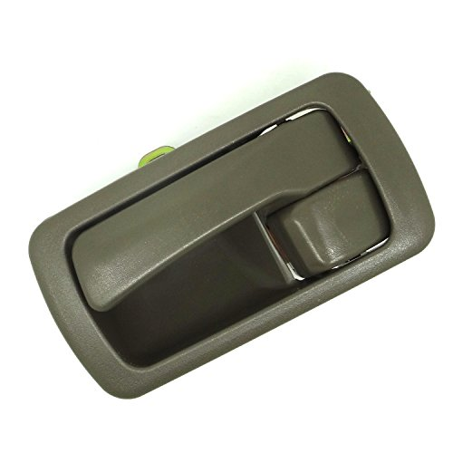 Conpus New Inside Door Handle with Bezel Beige Front Or Rear Left Interior Driver Side 1996 1995 1994 1993 1992 Toyota Camry A682