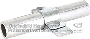 "Dehn 410134 - Abrazadera tubo 1.3/4"" st/tzn"