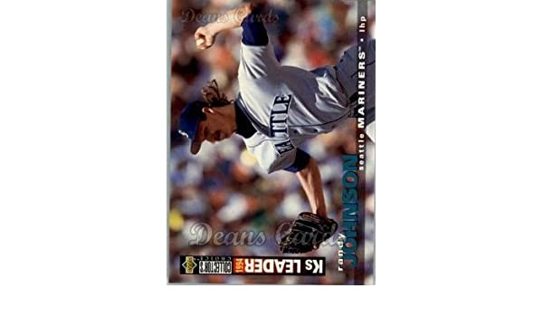 Amazon.com: 1995 Upper Deck Collectors Choice # 74 Randy Johnson Seattle Mariners (Baseball Card) Deans Cards 8 - NM/MT Mariners: Collectibles & Fine Art