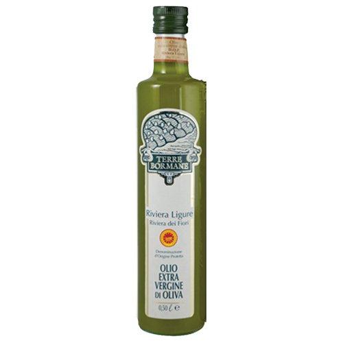 Price comparison product image Terre Bormane Riviera Ligure DOP Extra Virgin Olive Oil - 16.9 Ounce