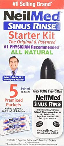 (Neilmed Sinus Rinse Starter Kit (5 packets))