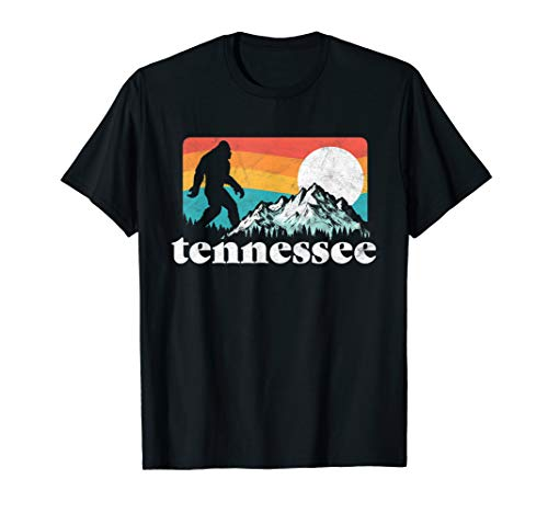 Tennessee Bigfoot Mountains Retro 80's - Tennessee Snowman