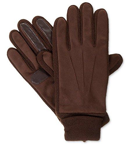 - Isotoner Signature Men's Knit-Cuff Gloves L