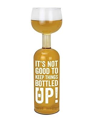 BigMouth Inc Original Wine Bottle Glass