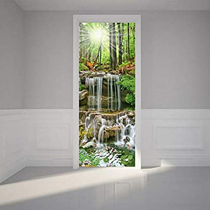 Details about  /3D Forest Deer M735 business Wallpaper Mural Self Adhesive Trade Amy show original title