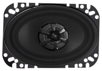 Audiobahn AMS460H 4 X 6 Inches 2-Way Murdered Out Series (Audiobahn Surround Speakers)