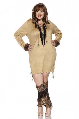 Eskimo Kisses Costume, Brown]()