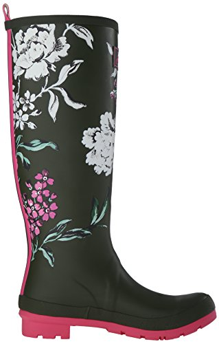 Welly Leaf Boot Women's Floral Rain Grape Print Joules SxFzwqW5x