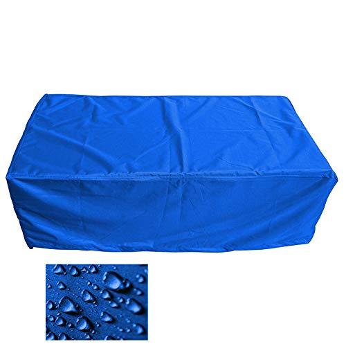 Holi Europe Premium Schutzhülle Gartenmöbel Abdeckung/Gartentisch Abdeckplane B 170cm x T 80cm x H 65cm Blau