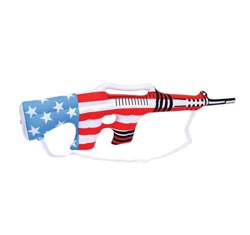 12 hinchable playa Juguete Militar bandera de EE. UU. Rifles ...