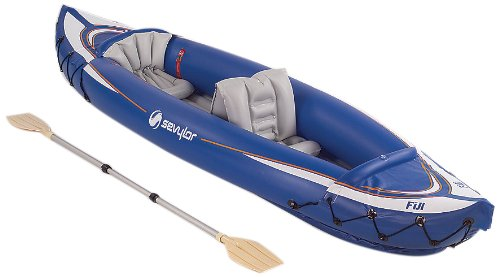 Sevylor 2 Person - Sevylor Fiji Travel Pack Kayak (Blue,2-Person)
