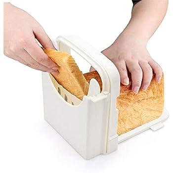 Amazon.com: COMKIT Pan cortador Guía para pan casero, de ...