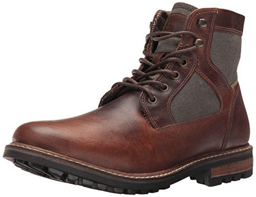 Mens Casual Winter Boots (Crevo Men's Reginald Winter Boot, Brown, 10.5 M US)