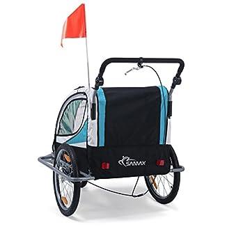 Remolque de bici para niños con kit de footing 3