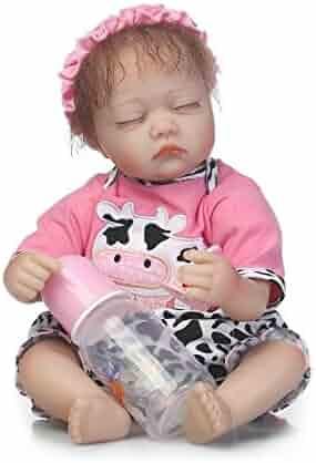 Nicery Reborn Baby Doll Soft Simulation Silicone Vinyl 18 Inch 42 45 Cm Children Friend