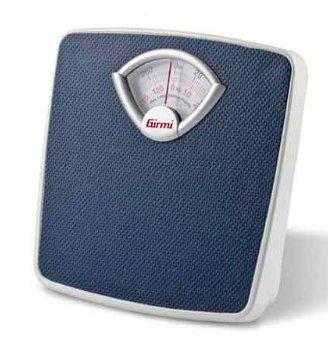 Girmi BP01 - Báscula de baño (Báscula de baño analógica, 130 kg, 1