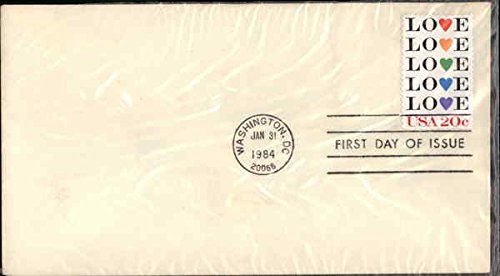 LOVE USA 20c - First Day of Issue Original First Day Cover