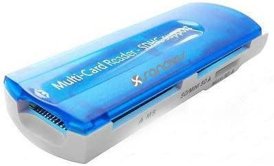 SANOXY All-in-1 USB 2.0 High Speed Memory Card Reader Writer for SD SDHC MMC rsMMC 15-in-1 USB 2.0