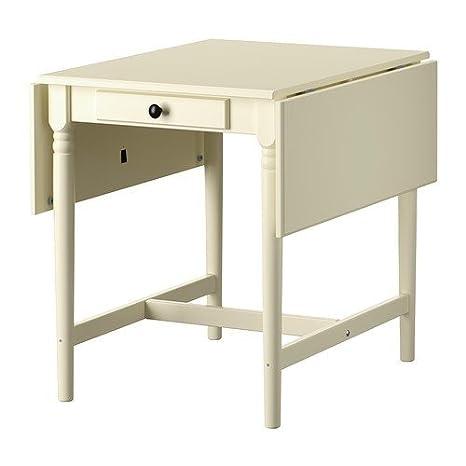 Ikea Ingatorp Klapptisch.Ikea Ingatorp Klapptisch In Weiß 59 88 117x78cm Amazon