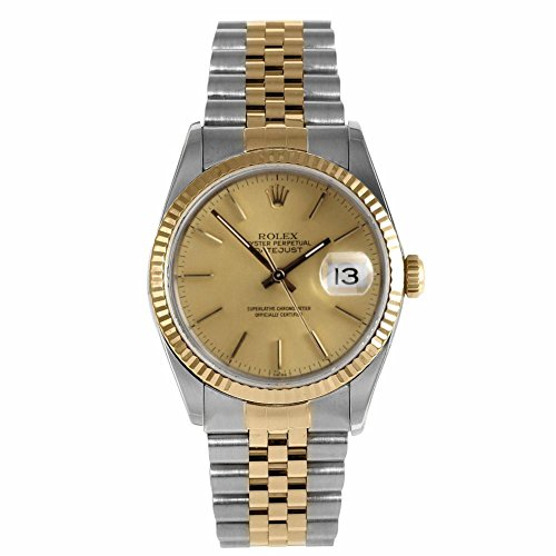 Rolex Datejust swiss-automatic mens Watch 16013 (Certified Pre-owned) by Rolex (Image #4)