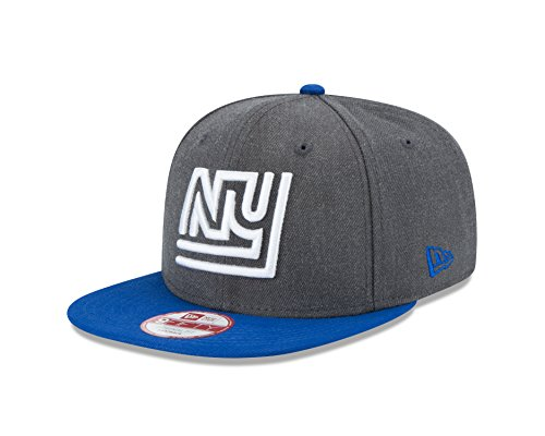 NFL New York Giants New Era Historic Heather Graphite 9FIFTY Original Fit Cap, Graphite, One Size