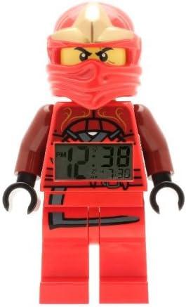 Amazon.com: LEGO Ninja go Kai Reloj despertador (Alarma ...