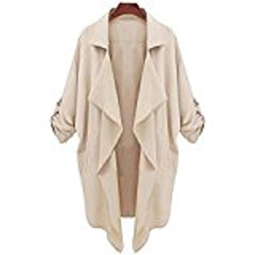 AMA(TM) Women Windbreaker Casual Cardigan Tops Outwear Jacket Coat