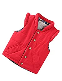 zhbotaolang Sleeveless Vest Child Waistcoat Jacket Windproof Coat Ultralight Clothing