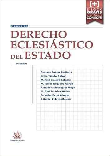 Derecho Eclesiástico Del Estado 2ª Edición 2016 por Mª José Ciaurriz Labiano epub